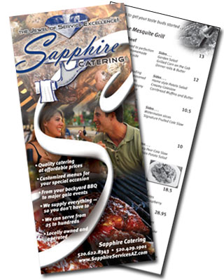 Sapphire Catering Brochure