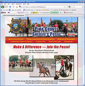 Pima County Sheriff's Mounted Posse